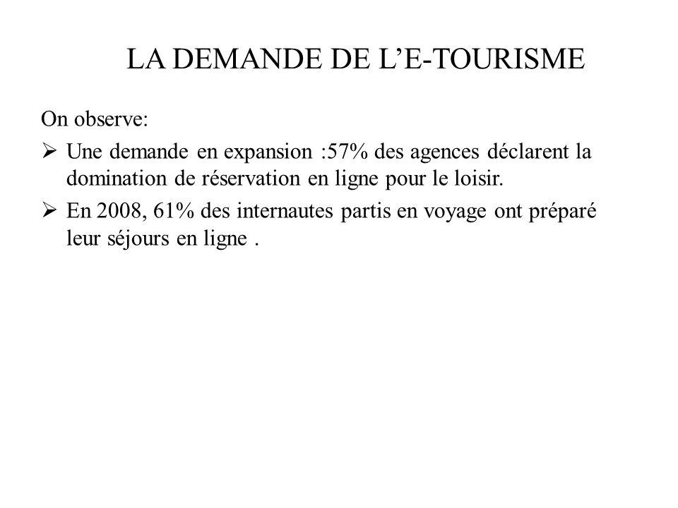 En 2002, le chiffre daffaires de le-tourisme en France- commerce de voyage en ligne, en BtoC sétait établi à 880 Millions deuros.