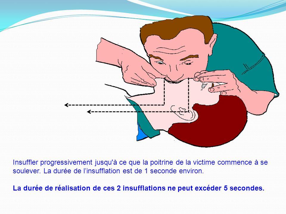 Points clés des compressions thoraciques Pour être efficace… Sassurer que la victime est en position horizontale, sur le dos, préférentiellement sur u