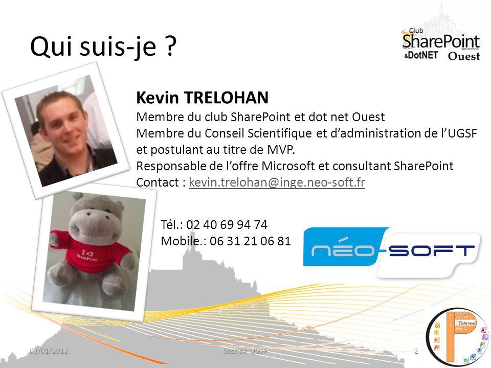 Merci En savoir plus : http://www.sharepoint4ever.fr http://kevintrelohan.blogspot.com http://sharepoint.microsoft.com/fr- fr/product/capabilities/ Si vous avez une clé USB noubliez pas de demander la présentation et les documents associés