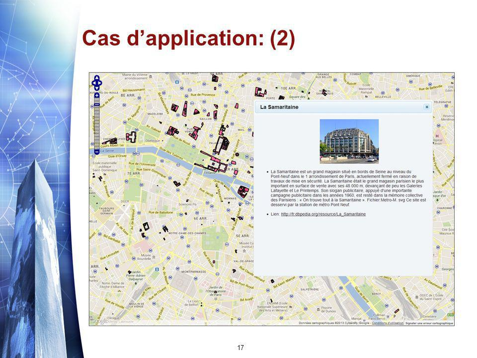 Cas dapplication: (2) 17