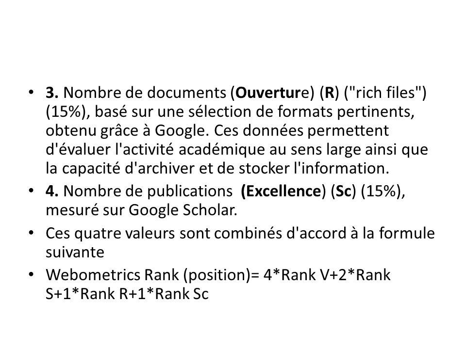 3. Nombre de documents (Ouverture) (R) (