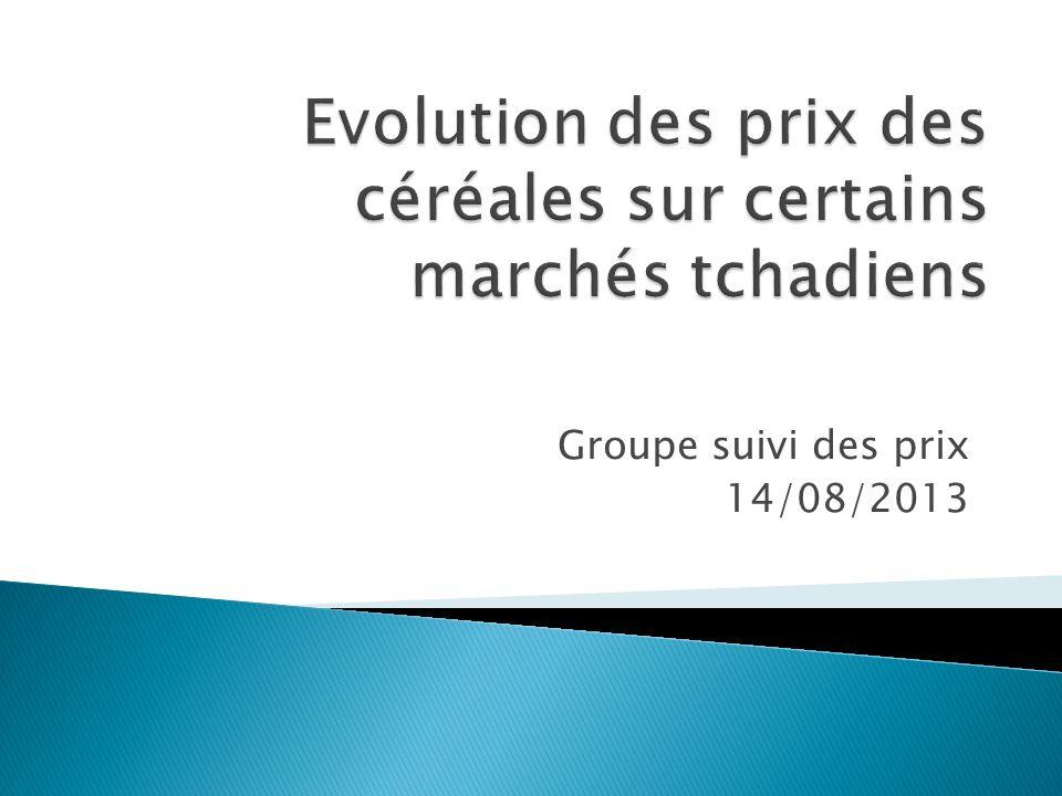 Groupe suivi des prix 14/08/2013