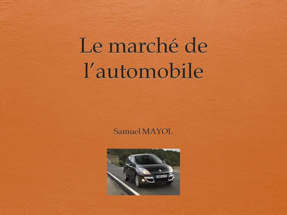 Etat du marché Le taux de motorisation national était de 82,0% en 2006.