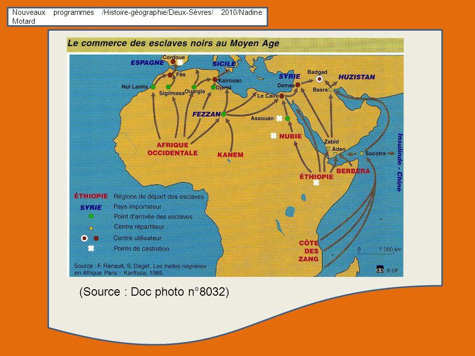 Nouveaux programmes /Histoire-géographie/Deux-Sèvres/ 2010/Nadine Motard (Source : Doc photo n°8032)