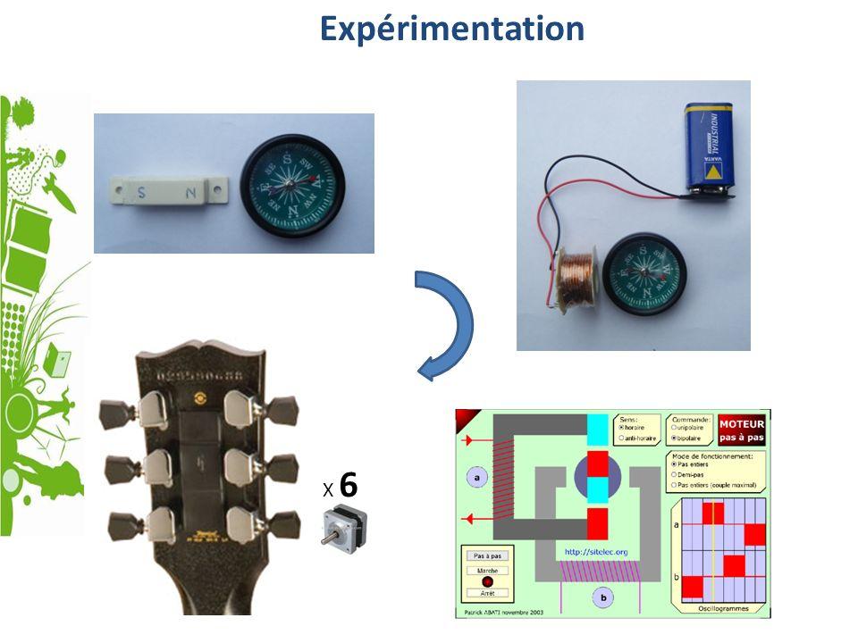 Expérimentation X 6