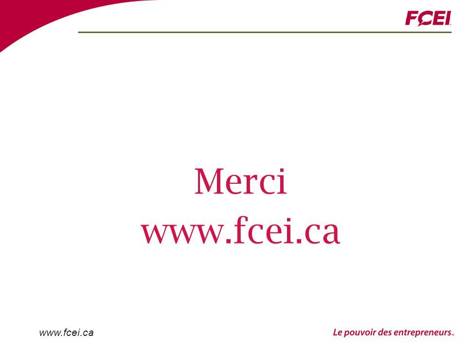 www.fcei.ca Merci www.fcei.ca