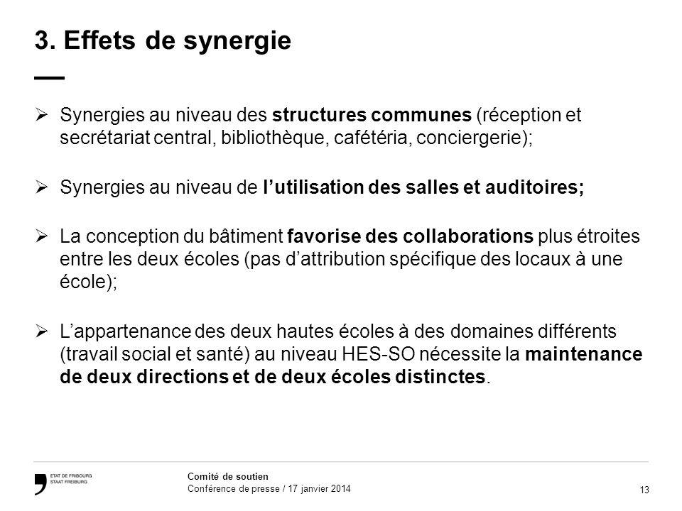 13 Comité de soutien Conférence de presse / 17 janvier 2014 3.