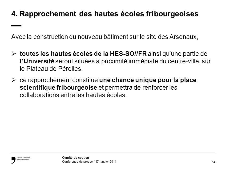 14 Comité de soutien Conférence de presse / 17 janvier 2014 4.