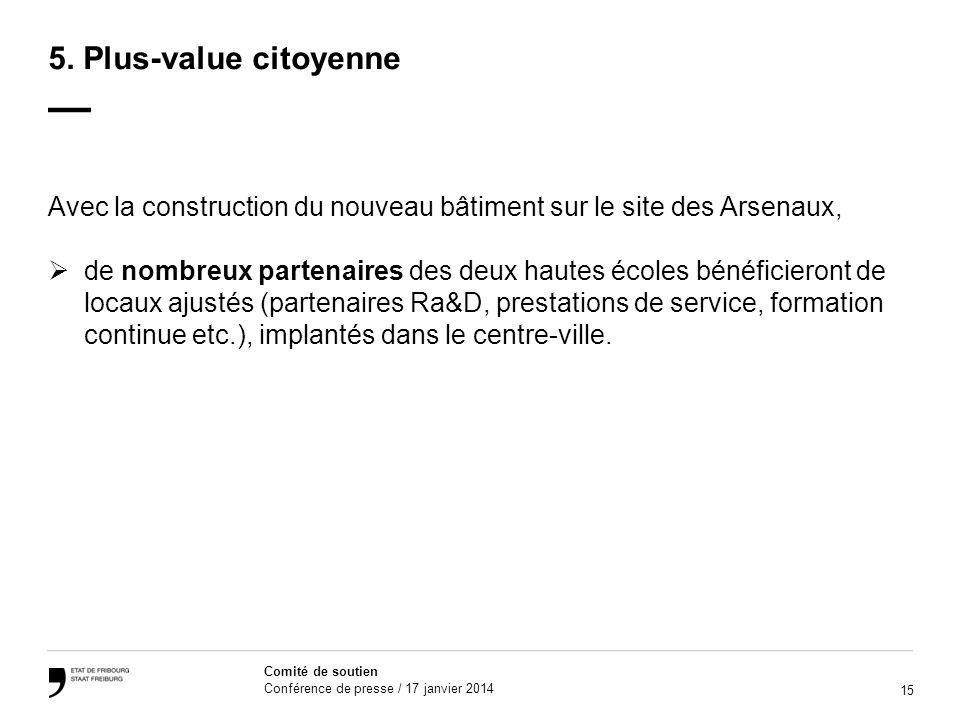 15 Comité de soutien Conférence de presse / 17 janvier 2014 5.