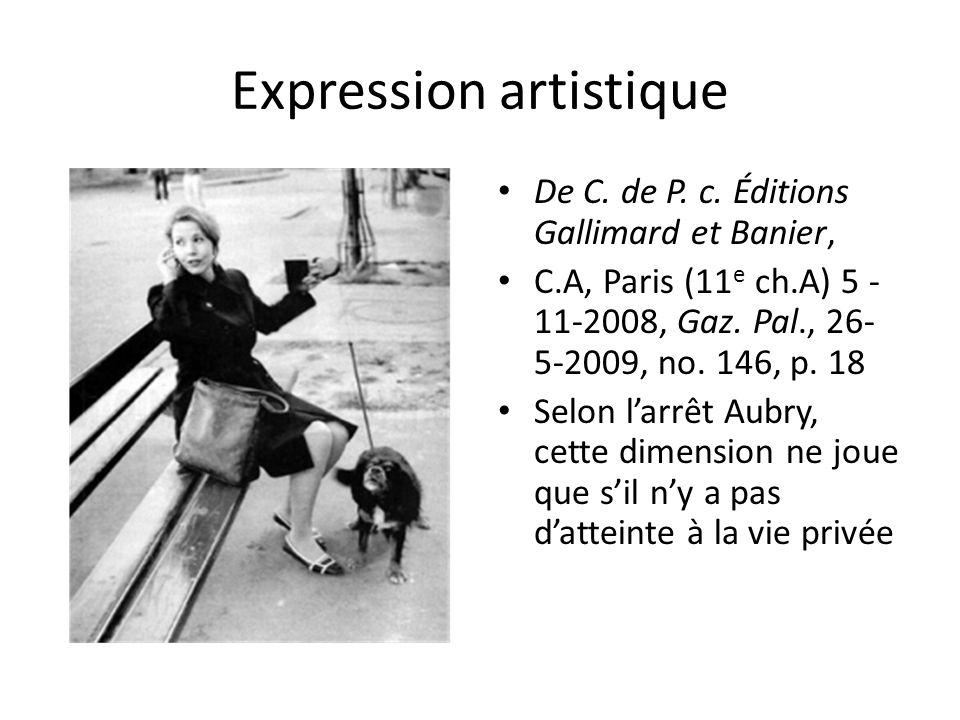Expression artistique De C. de P. c.