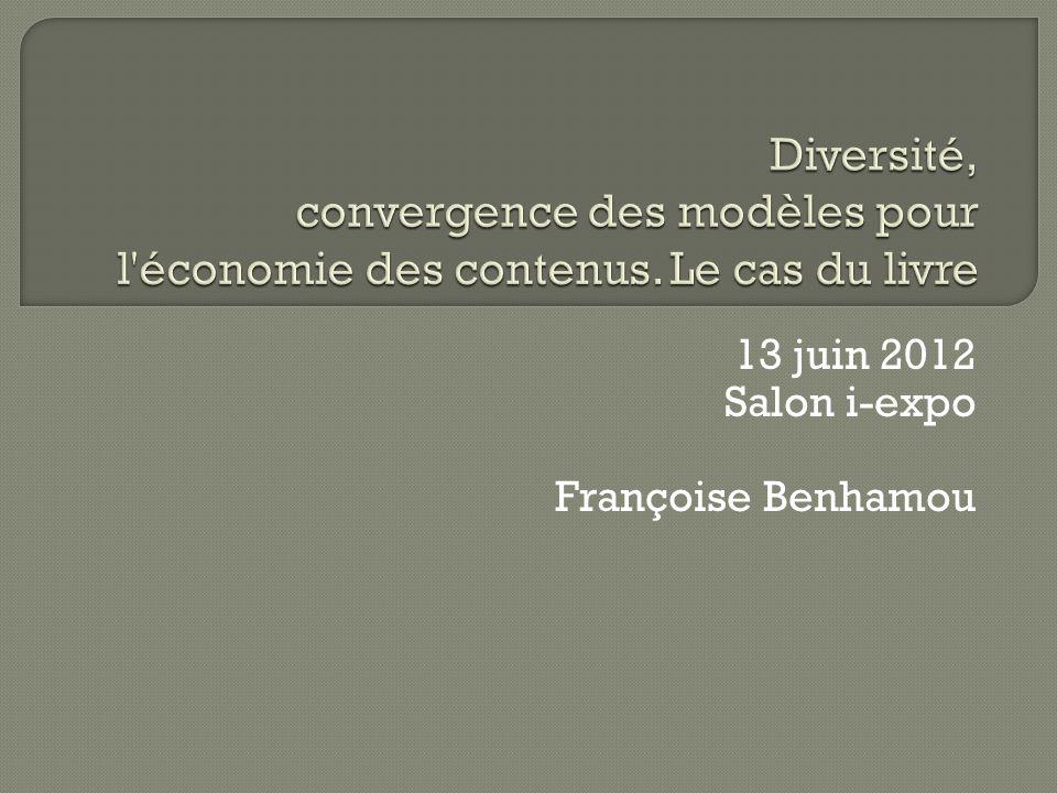 13 juin 2012 Salon i-expo Françoise Benhamou