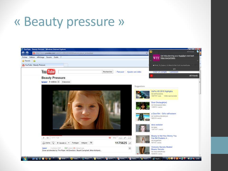 « Beauty pressure »