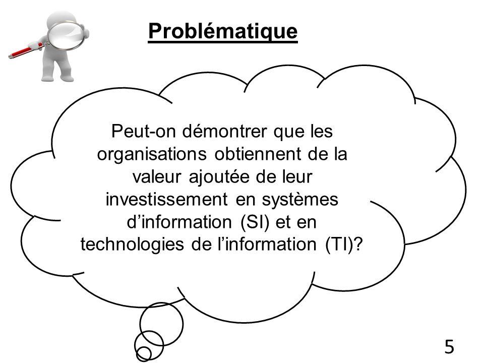 2- Perspective de médiation SI sont une variables intervenante entre une ou plusieurs autres variables (antécédentes) et la performance (conséquente) 3- Appariement entre les SI et une autre dimension de l entreprise: ces deux dimensions sont théoriquement appropriées l une pour l autre.