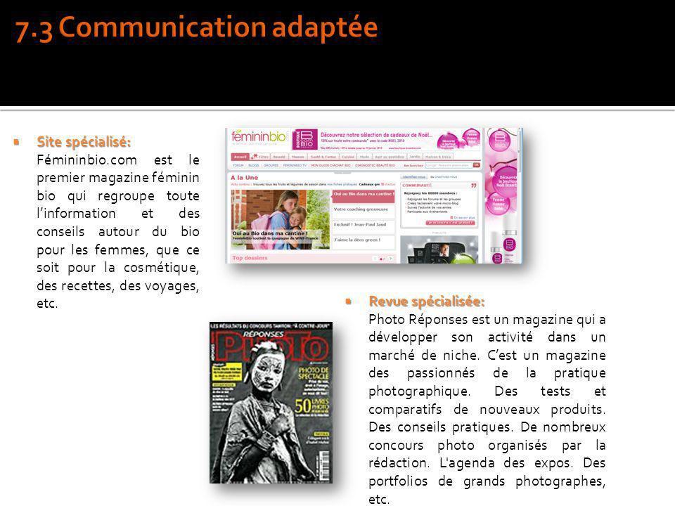 Site spécialisé: Site spécialisé: Fémininbio.com est le premier magazine féminin bio qui regroupe toute linformation et des conseils autour du bio pou