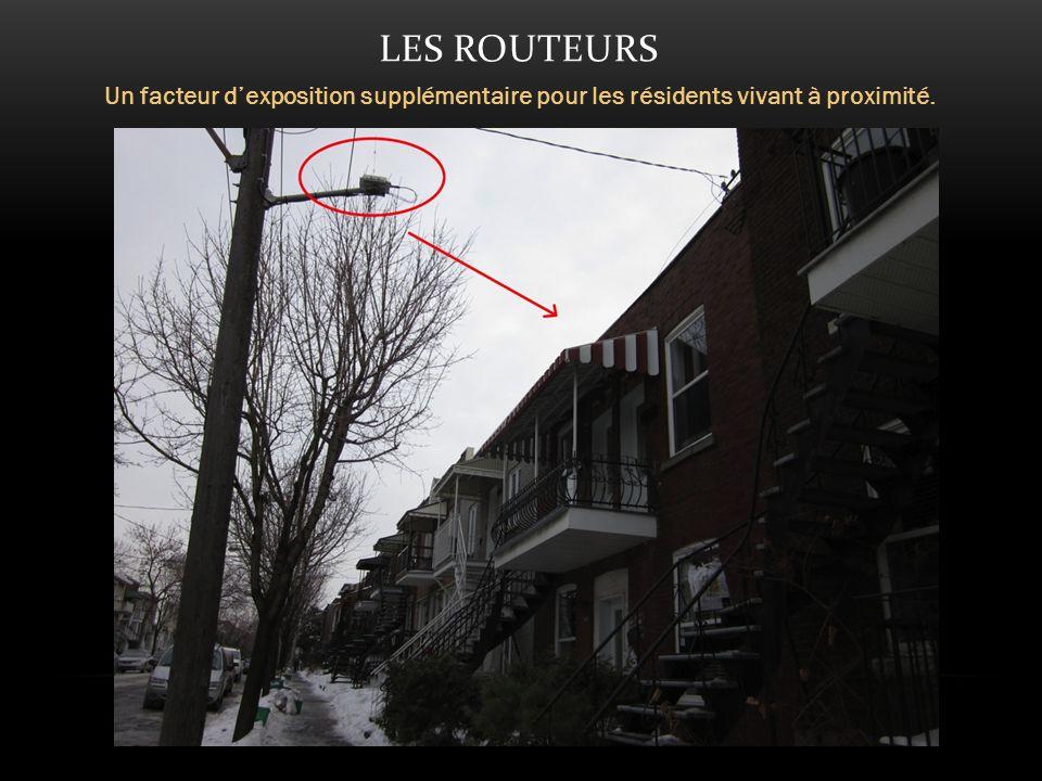 LES ROUTEURS Un facteur dexposition supplémentaire pour les résidents vivant à proximité.