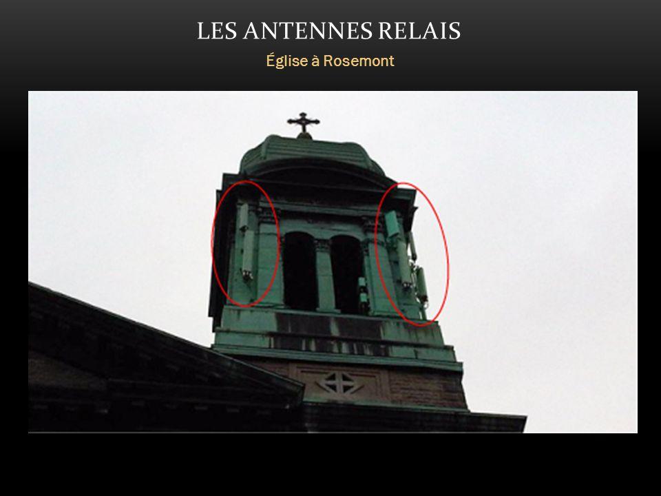 LES ANTENNES RELAIS Église à Rosemont