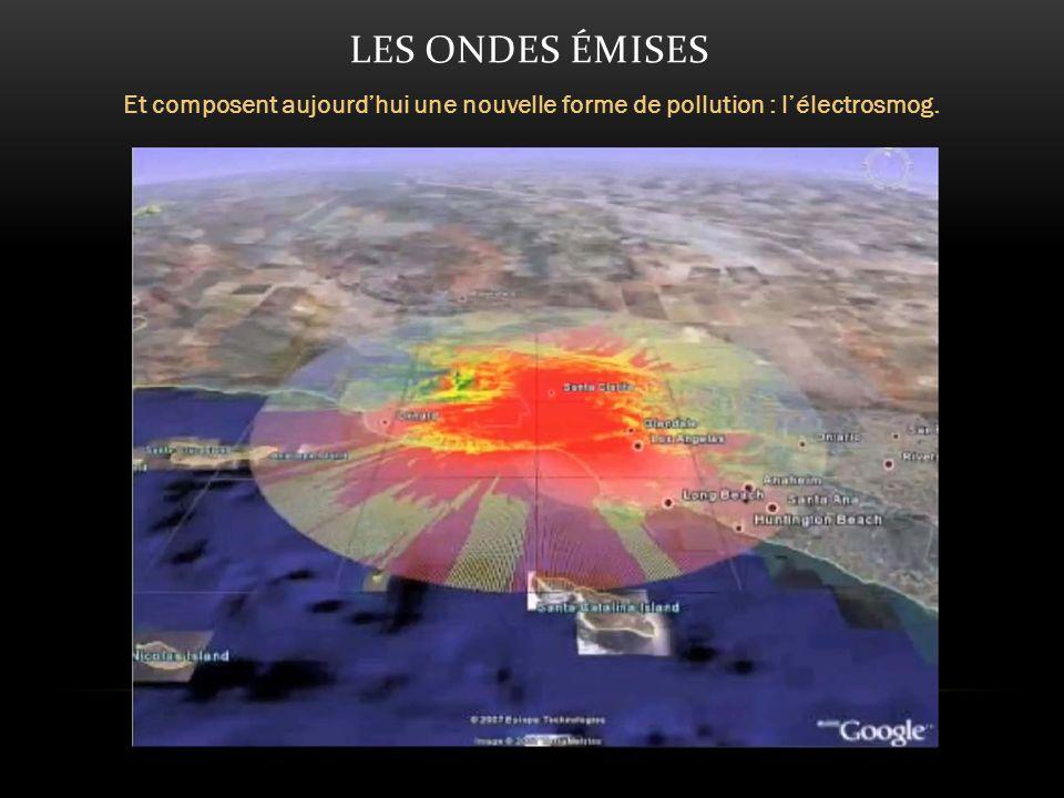 LES ONDES ÉMISES Et composent aujourdhui une nouvelle forme de pollution : lélectrosmog.
