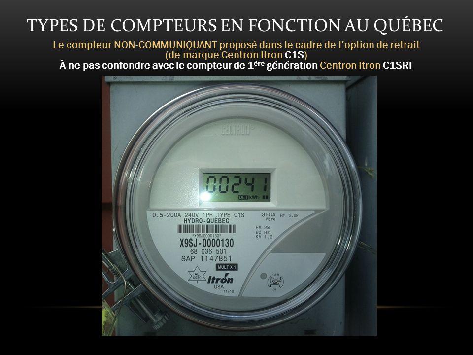 ÉVALUATION OMISE Hydro-Québec a choisi de ne pas faire évaluer l indice de Débit dAbsorption Spécifique des compteurs (DAS ou SAR pour Specific Absorption Rate).