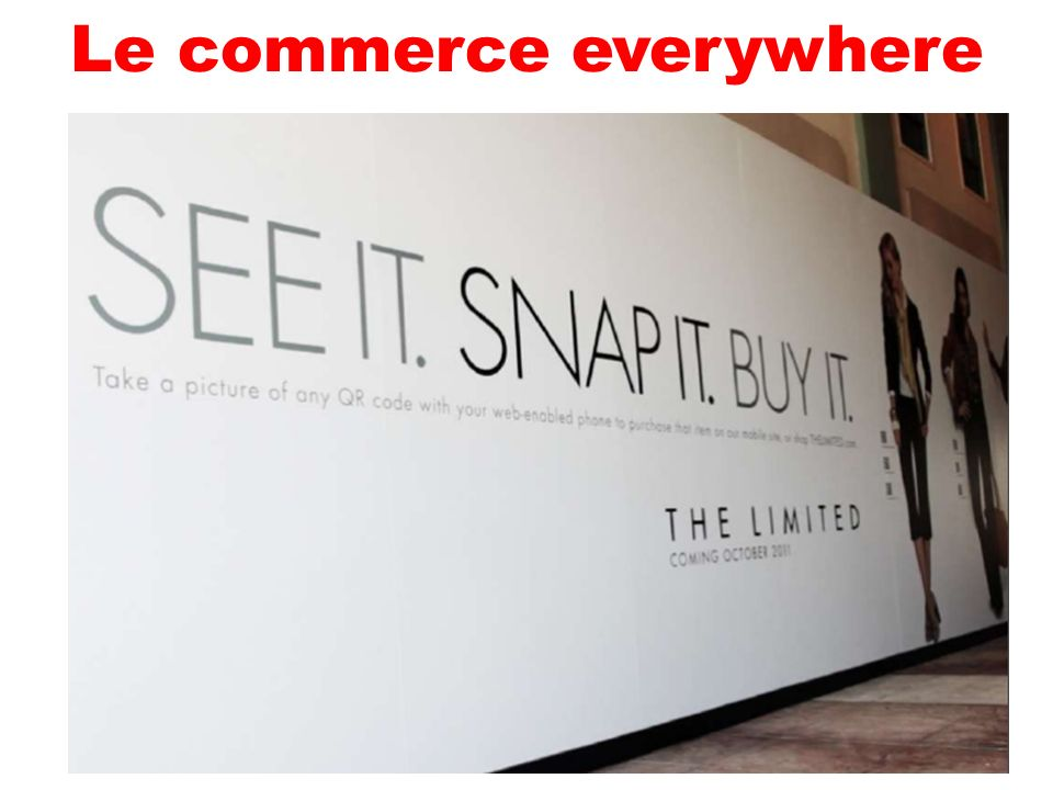 Le commerce everywhere