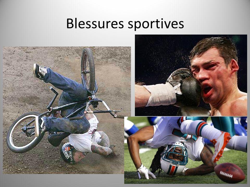 Blessures sportives