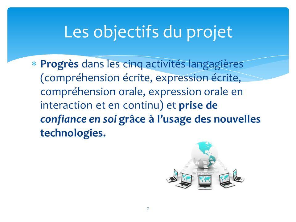 Lambition du projet a su leur donner une ambition personnelle qui est déjà perceptible dans les travaux mis en ligne et les progrès conséquents.