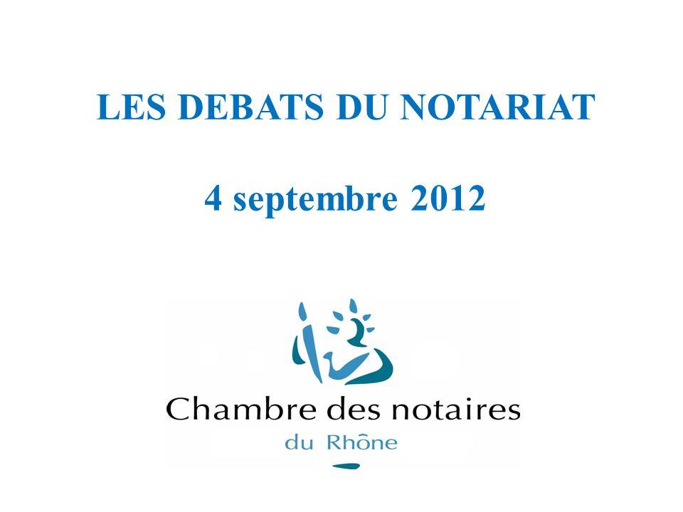 Intervenants : - Guillaume LORIOD, notaire salarié - Stéphane BERRE, Directeur du CFPN - Jean-Pierre PROHASZKA, Président de la Chambre des Notaires du Rhône