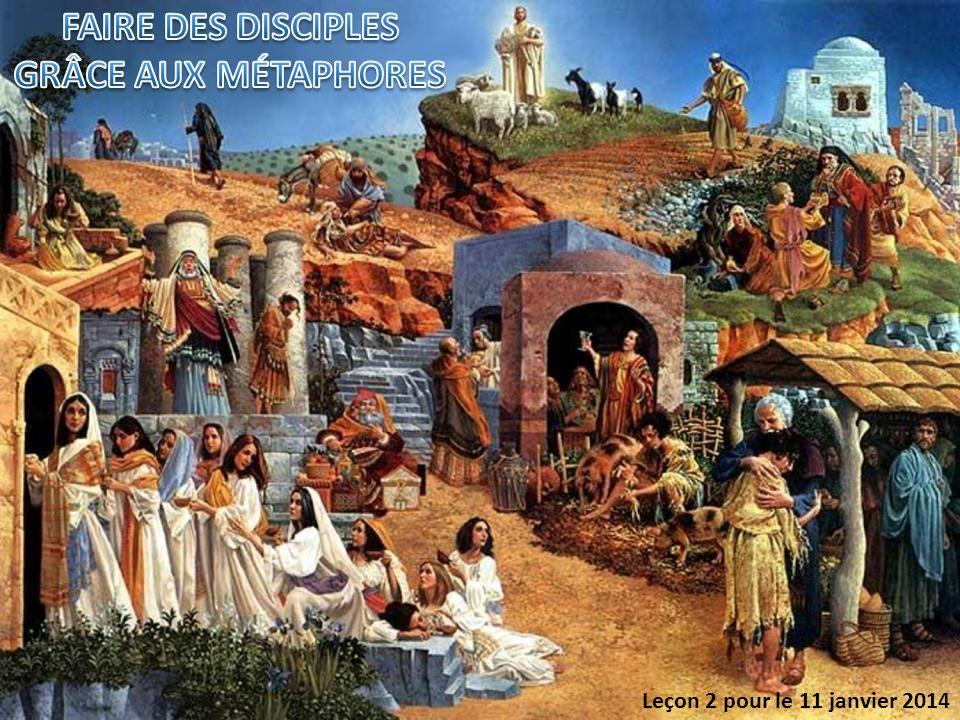 1.Métaphores de l Ancien Testament.2.Métaphores sur le prix de discipulat.