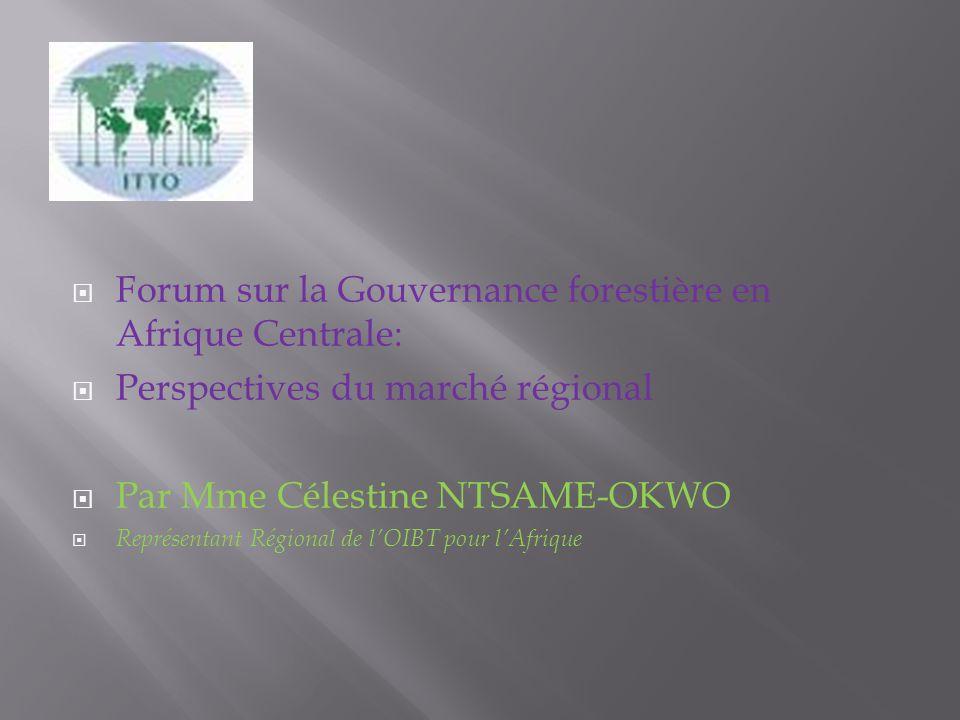 Cameroun Les principaux marchés sont lAsie pour les grumes et lUnion européenne (UE) pour les sciages.