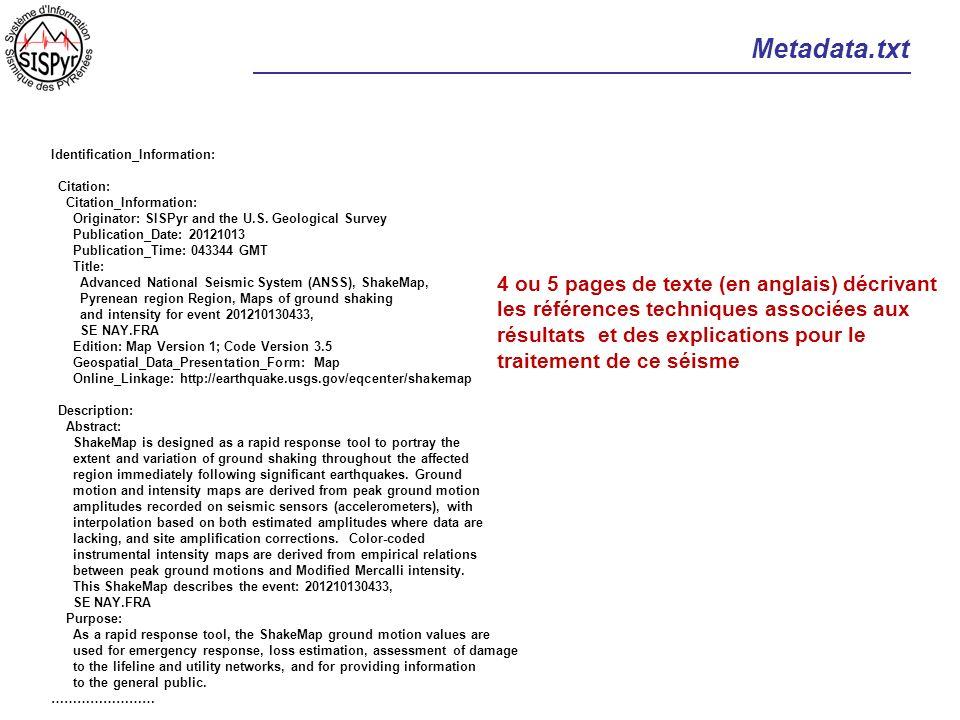 Metadata.txt Identification_Information: Citation: Citation_Information: Originator: SISPyr and the U.S. Geological Survey Publication_Date: 20121013