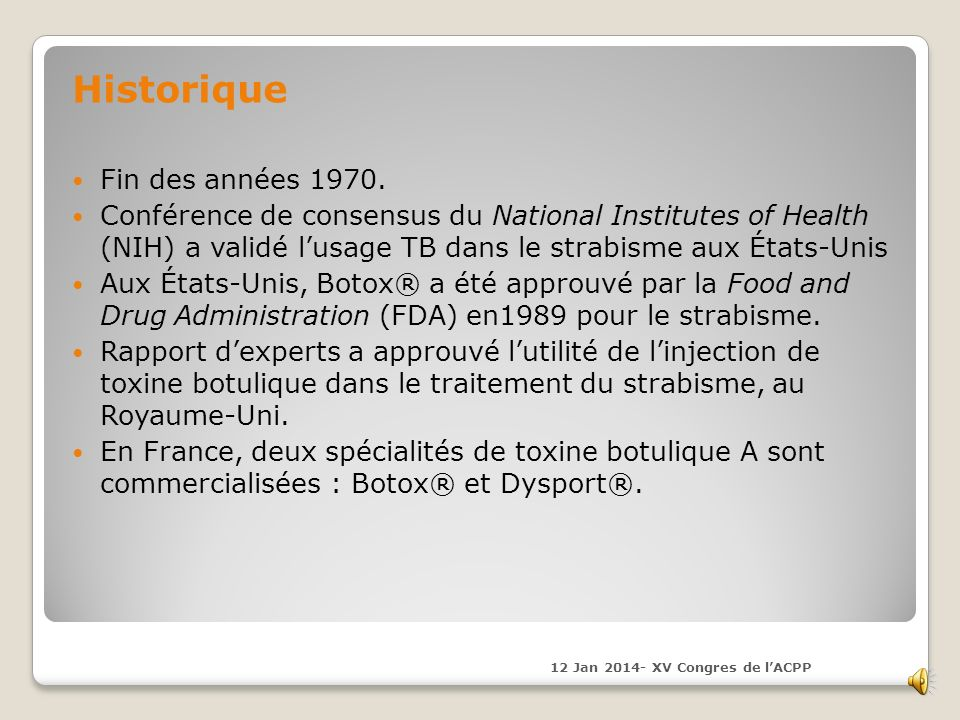 La toxine botulique TB (BOTOX°) Neurotoxine bact é rienne Produite par le Clostridium, bact é ries La toxine se fixe sur des r é cepteurs sp é cifique