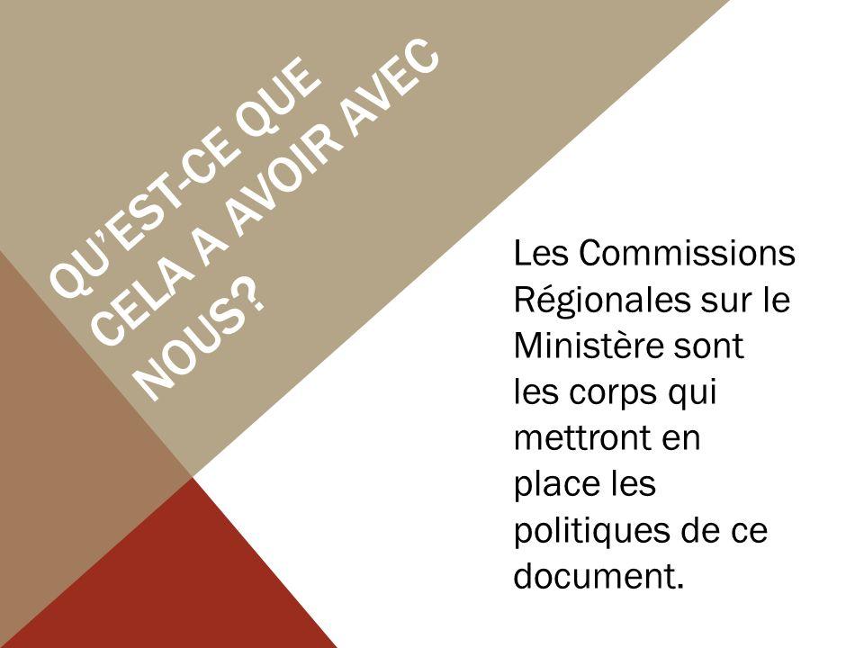 COMMENT CE DOCUMENT CHANGERA-T-IL LE MINISTÉRE AVEC UNE LICENSE DANS NOTRE RÉGION.