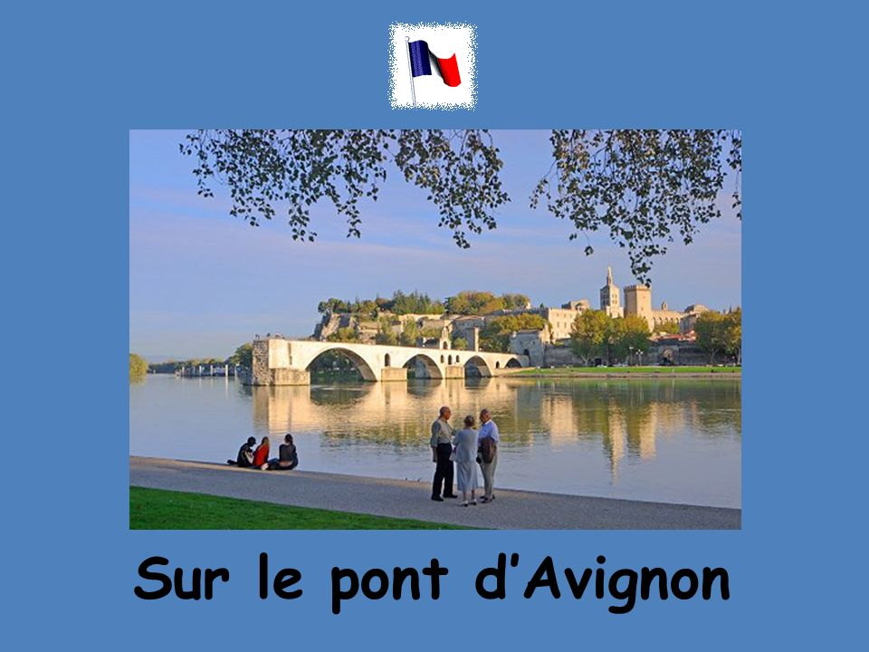 Sur le pont dAvignon