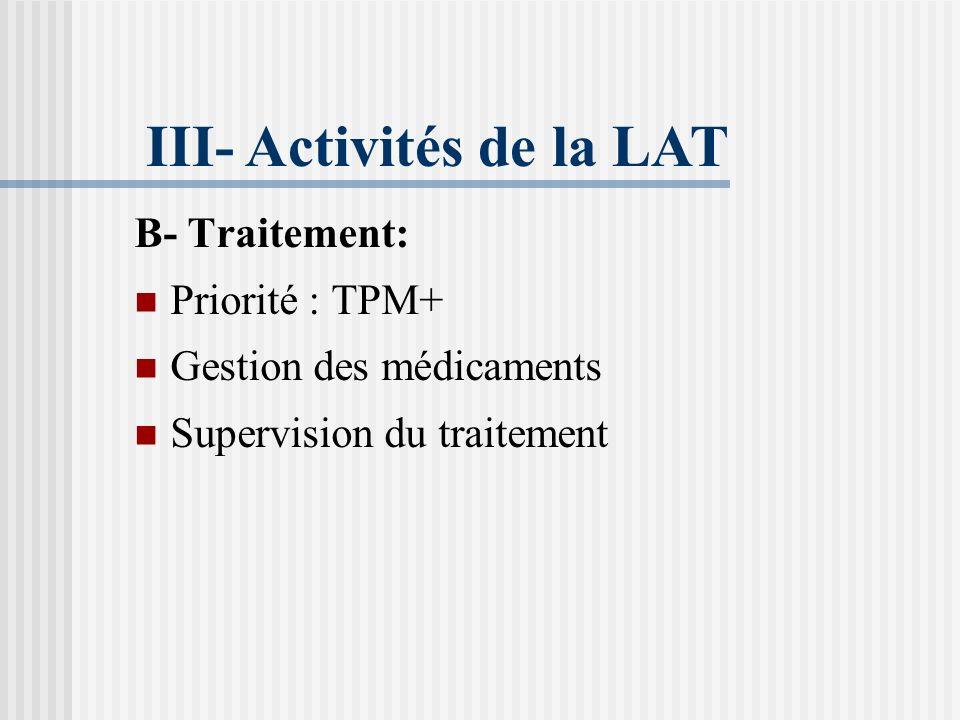 3. Modalités de dépistage: Consultants suspects: Interrogatoire minutieux. Examen clinique. Sujets contacts: <10ans : Cicatrice vaccinale, IDR. Rx pho