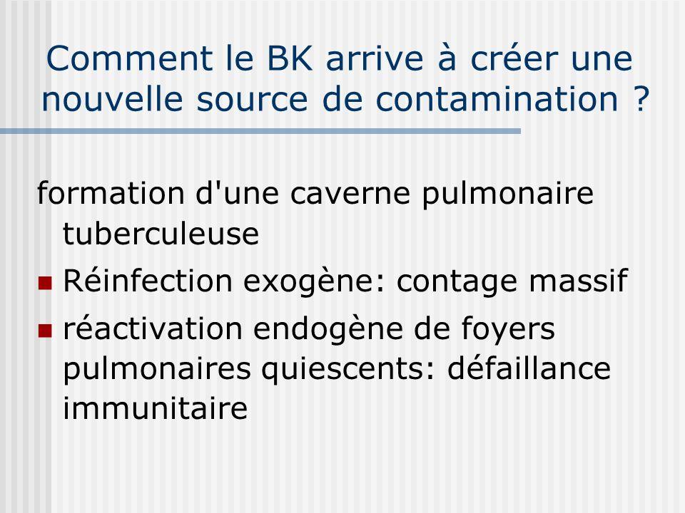 A retenir La dissémination des bacilles explique : Les tuberculoses aiguës post primaires, hématogènes apparaissant dans la phase