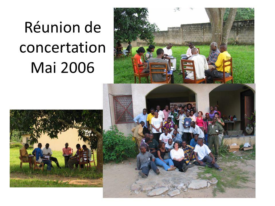 Réunion de concertation Mai 2006