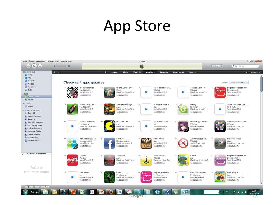 App Store e.lis@net28