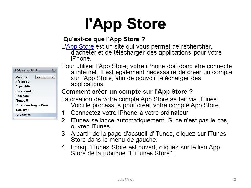 l App Store Qu est-ce que l App Store .