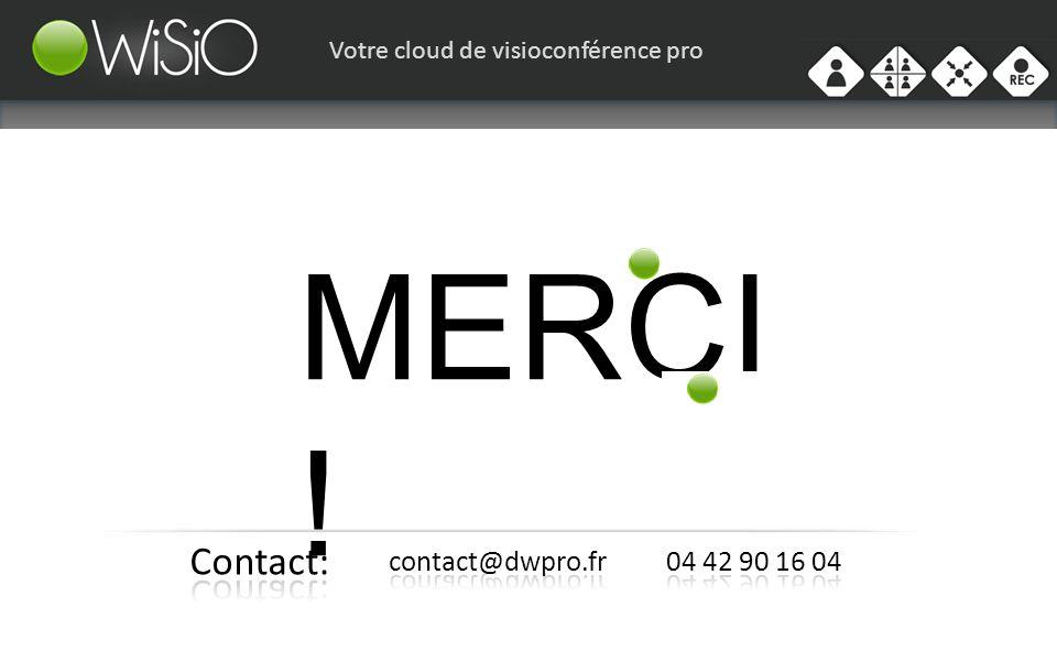 Votre cloud de visioconférence pro MERCI !