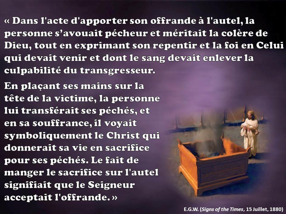 Lexpression « porter la faute » (Lévitique 10.17) est la même que celle qui est utilisée par le pharaon, en Exode 10.17, dans sa demande à Moïse.