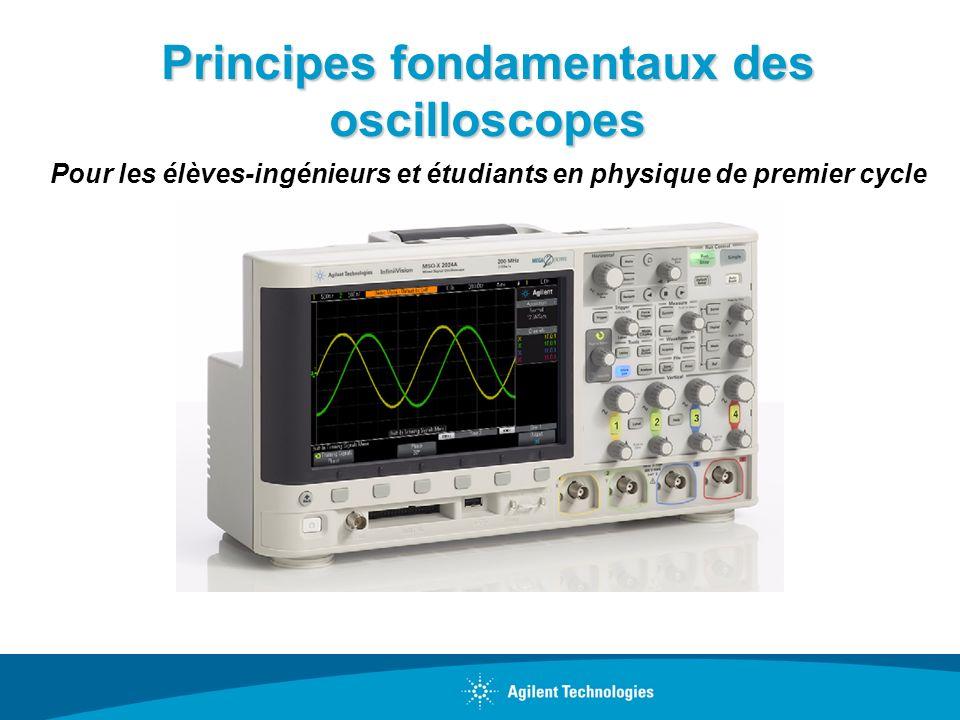 Principes fondamentaux des oscilloscopes Pour les élèves-ingénieurs et étudiants en physique de premier cycle