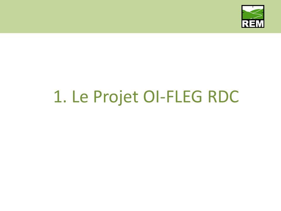 1. Le Projet OI-FLEG RDC