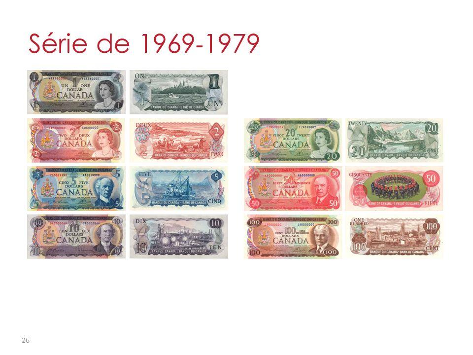 Série de 1969 - 1979 26