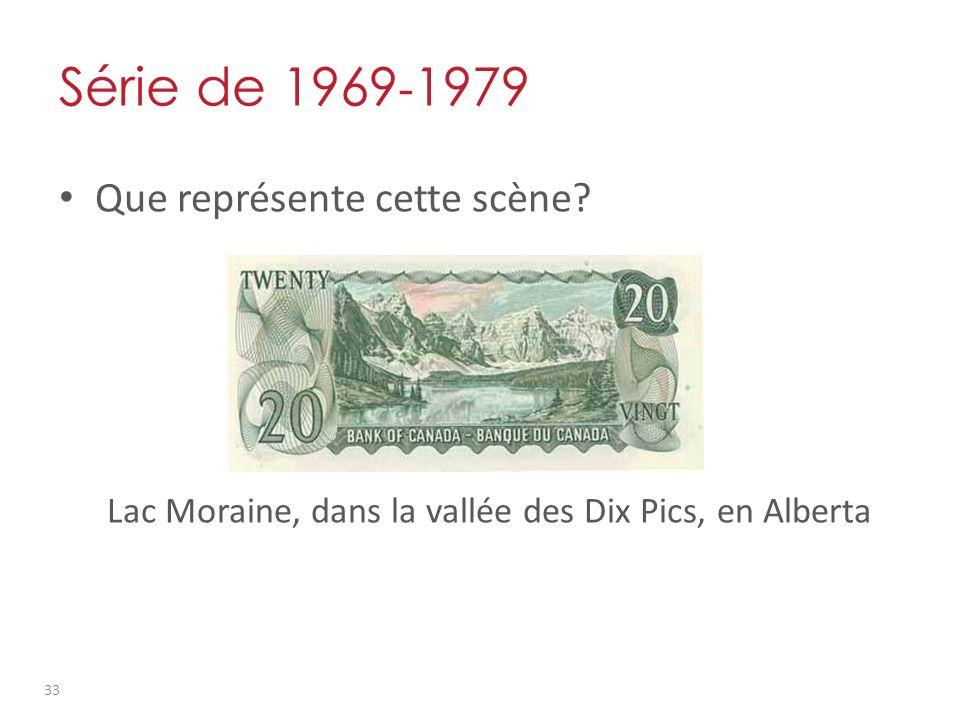 Série de 1969 - 1979 Que représente cette scène.