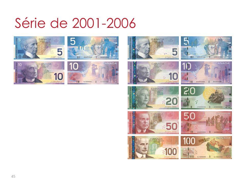 Série de 2001-2006 45