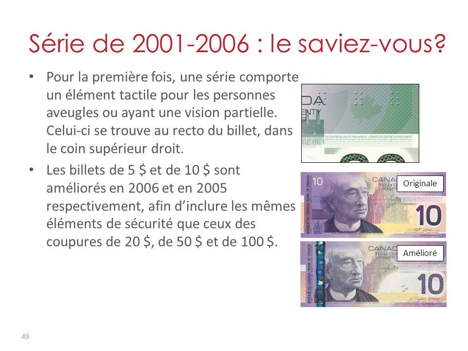 Série de 2001-2006 : le saviez-vous.