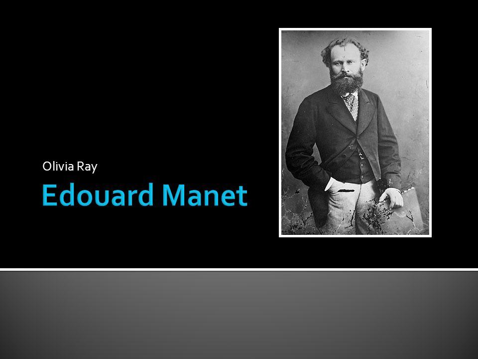 Cette peinture monte un exemple des couleurs pures que Manet utilisait et ses coups de pinceau visibles qui est populaire dans lImpressionnisme et pour le style de Manet.