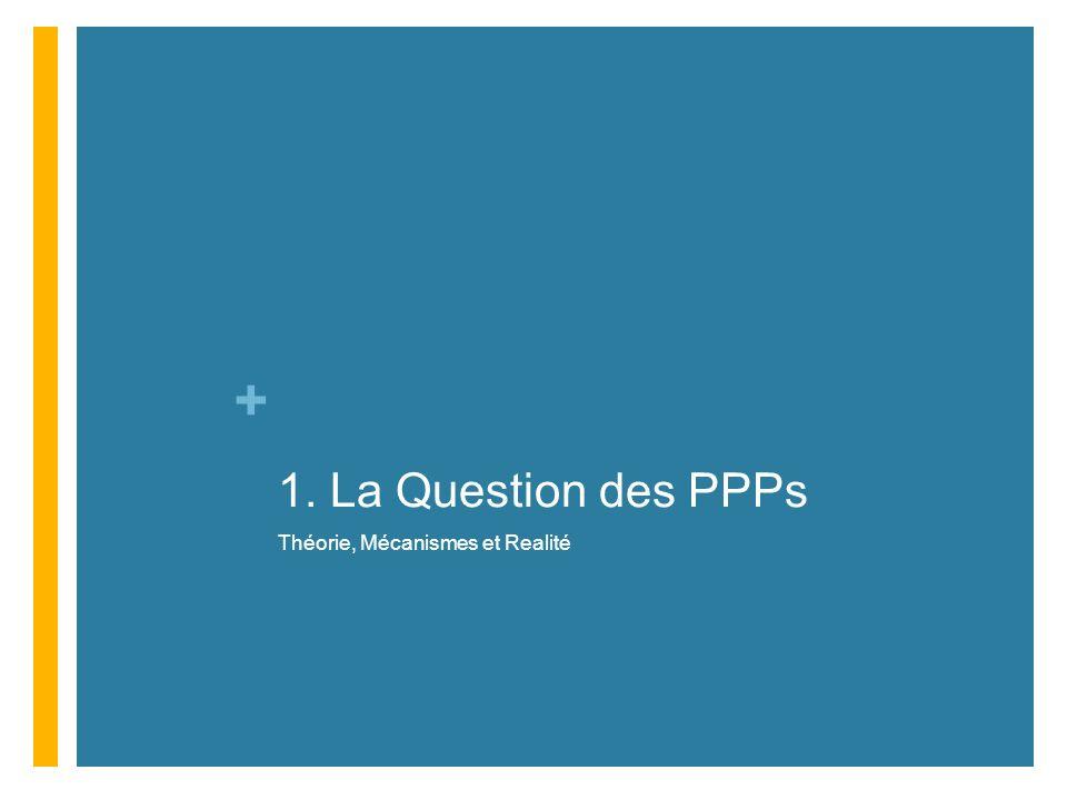 + 1. La Question des PPPs Théorie, Mécanismes et Realité
