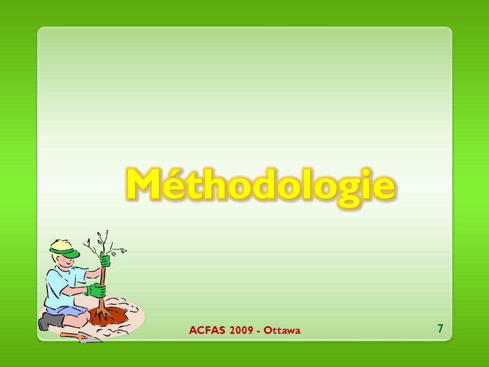 ACFAS 2009 - Ottawa 7