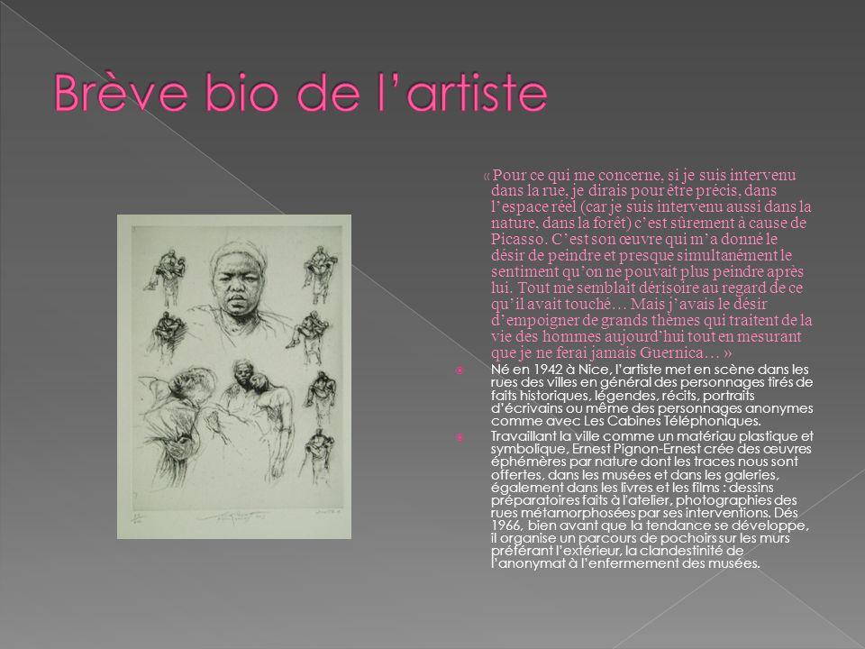 Ernest Pignon Ernest reprend la photo qui a fait le tour du monde, dHector Petersen, 12 ans mort le 16 juin1976, pendant la manifestation décoliers et lycéens, durement réprimée par la police blanche de lApartheid.