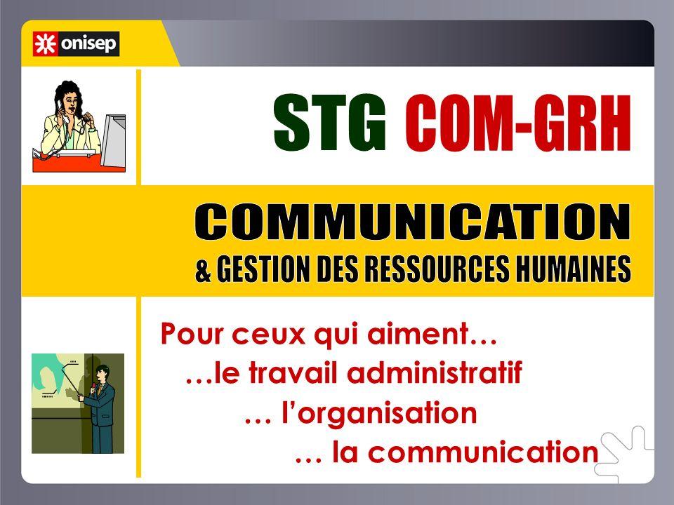 4 spécialités Communication et Gestion des Ressources Humaines Mercatique Comptabilité et Finance dEntreprise Gestion des Systèmes dInformation Commun